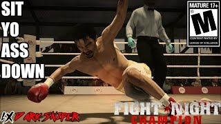 SIT YO ASS DOWN!!!-Fight Night Champion Xbox One Online
