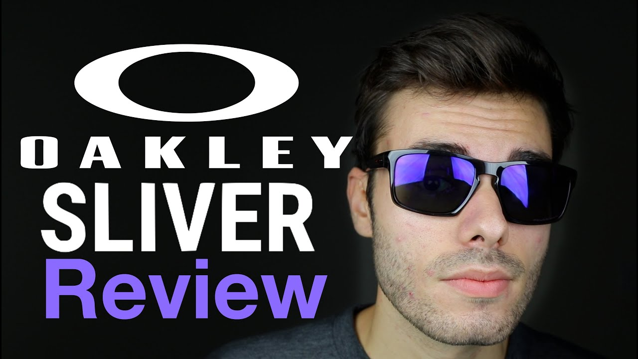 Oakley Mainlink Prizm >> Oakley Sliver Review - YouTube