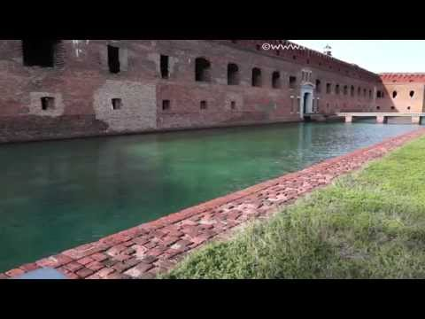 Fort Jefferson in DryTortugas National Park (1080p)