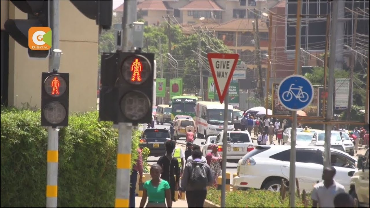 Traffics lights installed at Ksh 1.4 B yet to work