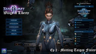 StarCraft Ep 2 - Wings of Liberty - Ep 2 Meeting Tychus Finley