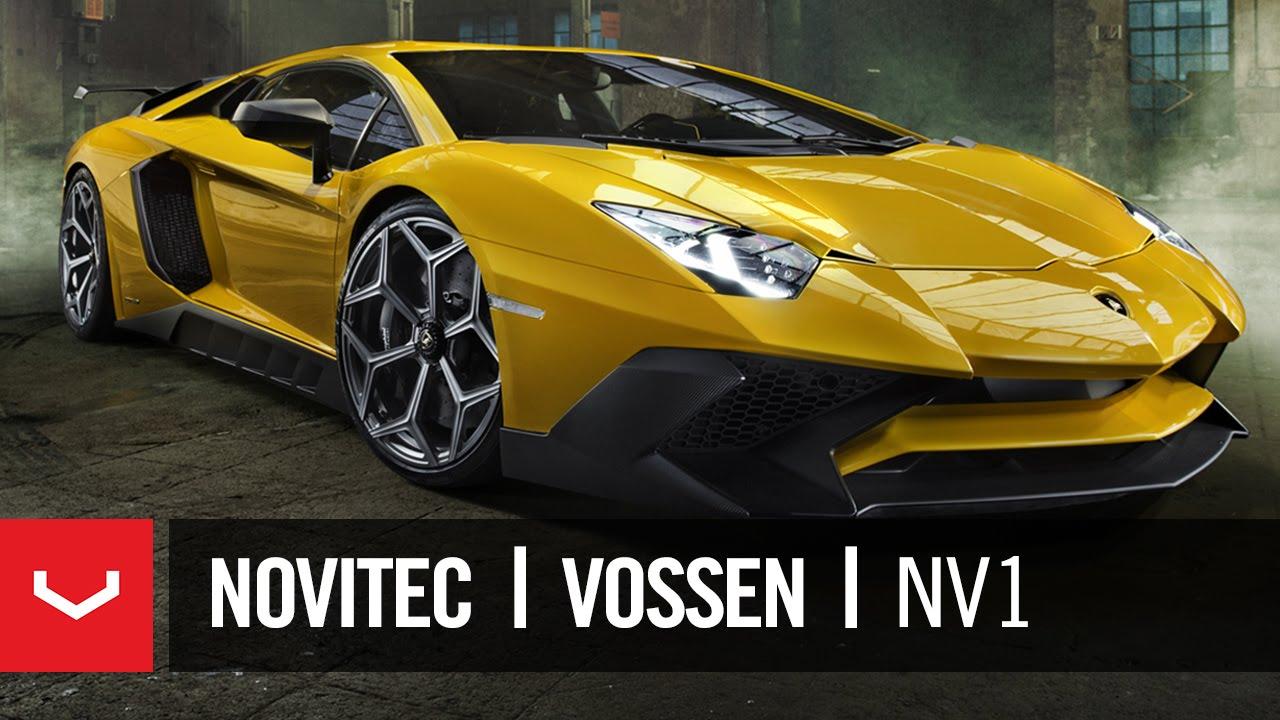 Pirelli P Zero >> Novitec x Vossen   Torado Lamborghini Aventador SV   NV1 Forged Wheel - YouTube