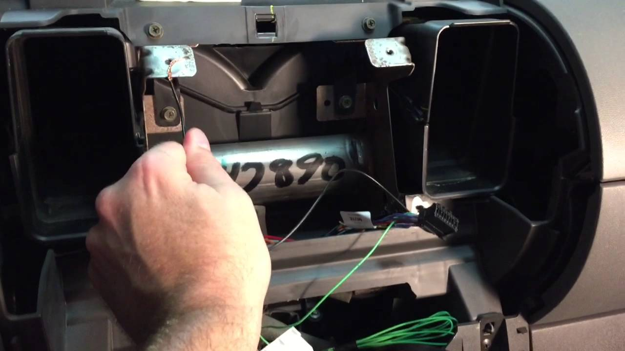 hight resolution of install double din pioneer appradio 4 stereo in 2006 nissan xterra youtube