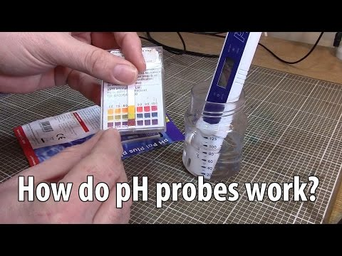 pH Probes - How they work and a circuit for using one.