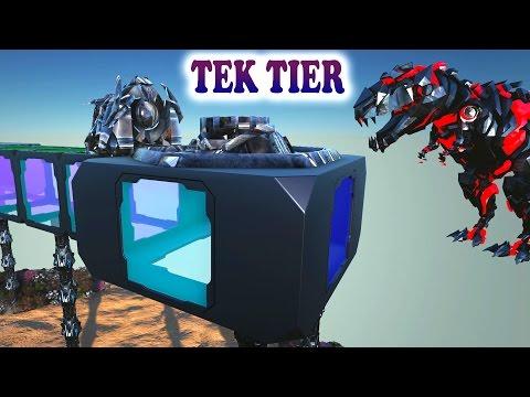 ARK TEK POWER GENERATOR,UNDERWATER BASES & END GAME BOSSES Ark Survival Evolved Dev Kit