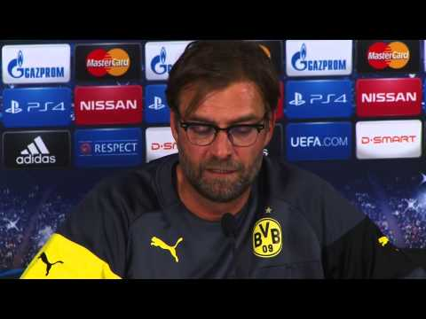 Pressekonferenz: Jürgen Klopp und Ilkay Gündogan vor Galatasaray Istanbul - Borussia Dortmund | BVB