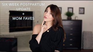 6 Weeks Postpartum Update + Mom Faves