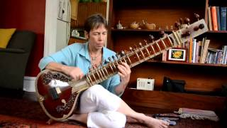 Lovely Sitar Performance by Allyn Miner