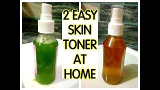 2 Easy Skin Toner At Home | Toner For All Skin Problems | Jairy