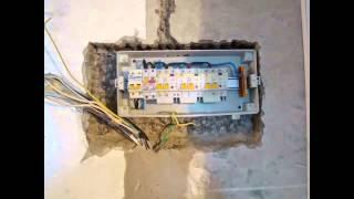 Замена электропроводки в трехкомнатной квартире(, 2015-01-05T19:01:23.000Z)