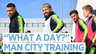 City prepare to take on Newport County | FA Cup | Training