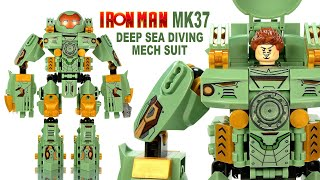 lego iron man suit up gantry instructions