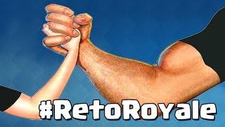 ¡¡¡LAS CUATRO CARTAS CON MÁS ATAQUE Y LAS CUATRO CON MENOS!! | #RetoRoyale | Clash Royale con Th