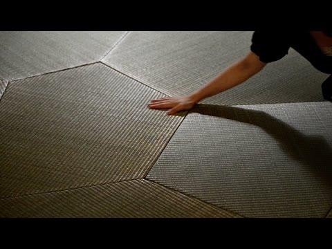職人技×デジタル 「デザイン畳」を世界へ