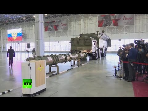 Russian Military Presents 9M729 Missile, Which US Claimed Violates INF Treaty