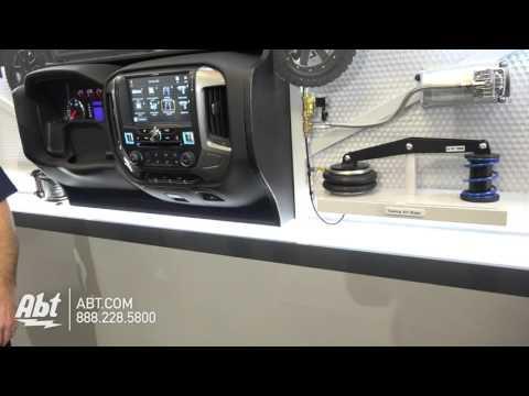 Alpine X110-SRA (Sierra) / X110-SLV (Silverado) 10 Inch Accessory Controller - Abt CES 2016