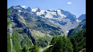 Höhenweg von Saas Fe nach Grächen - Tour-Monte-Rosa 2018 (1/5)