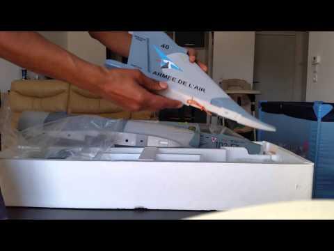 Rc jet mirage 2000 open box