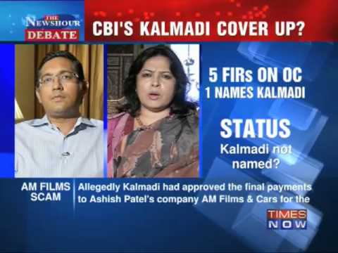 Newshour Debate: CBI's Kalmadi cover-up (Part 1 of 3)