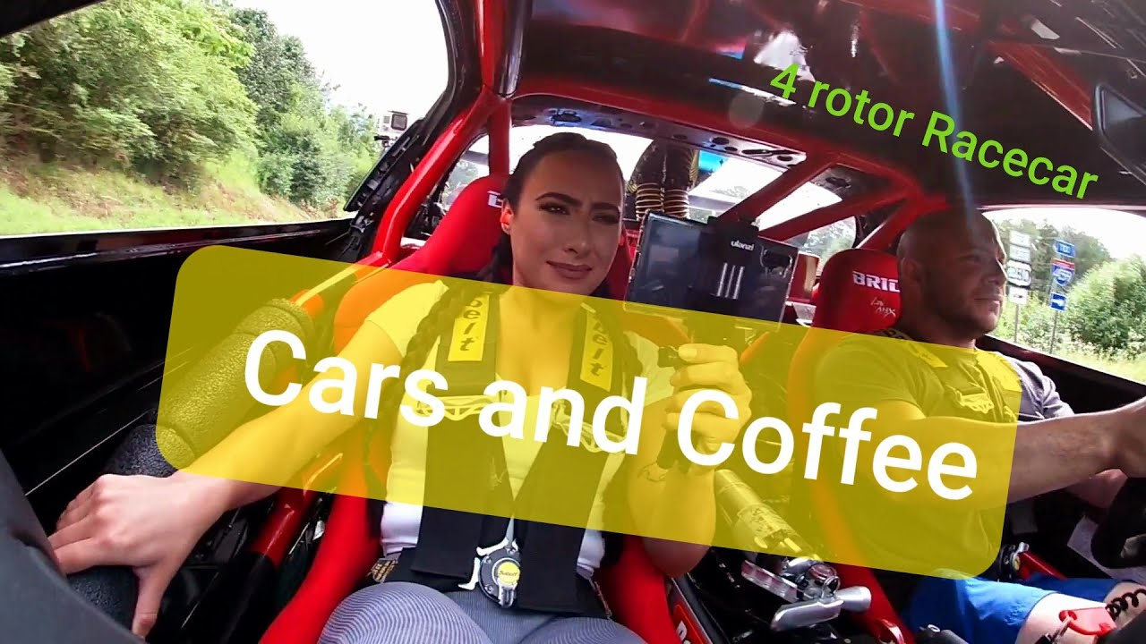 Taking my girlfriend to Cars and Coffee in the 4 rotor!