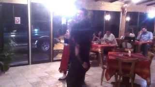 Стефан и Атина в Ресторант Балканика,Пафос,Кипър с Даниел Димитров