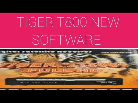 Tiger T800 Hyper New Software 2018 - YouTube