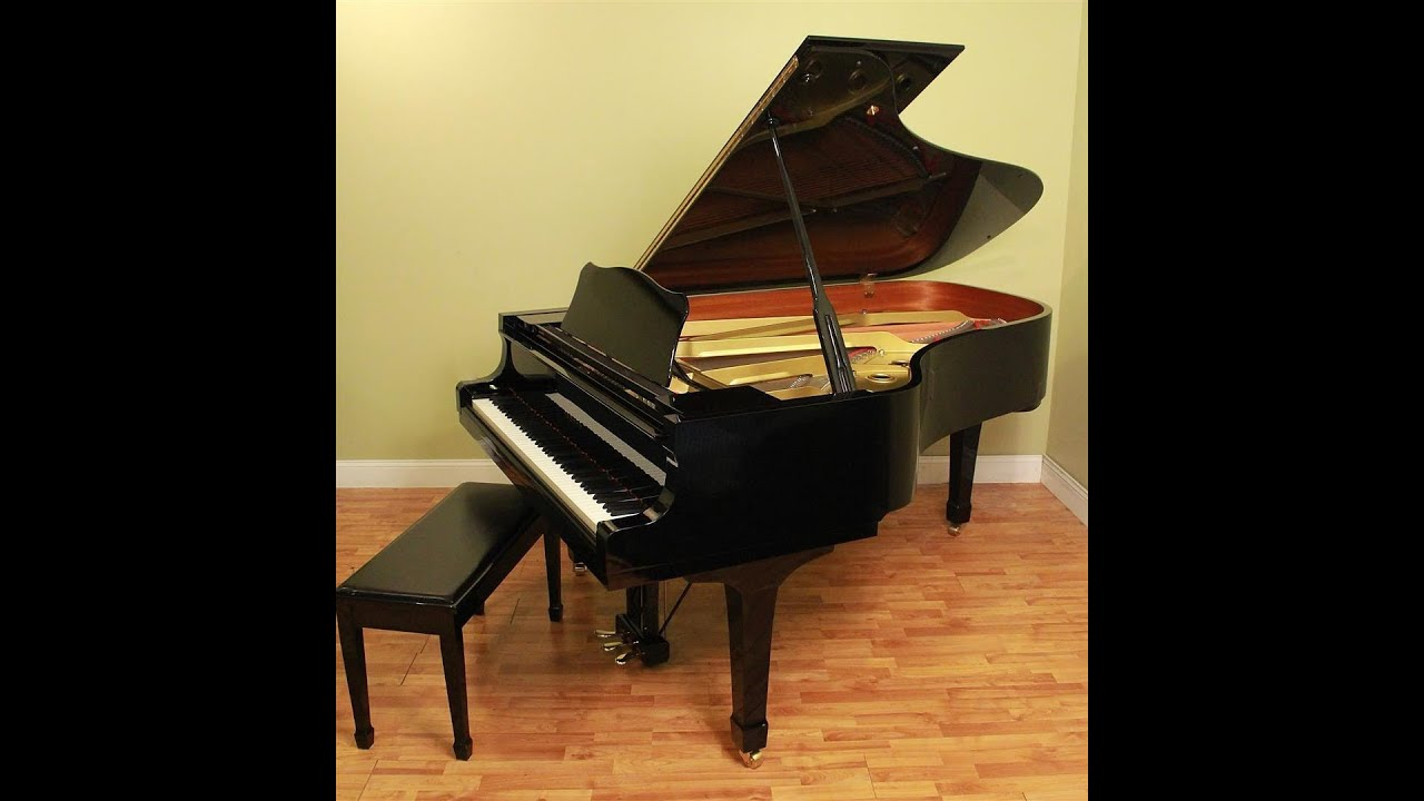 For sale yamaha c6 semi concert grand piano youtube for Price of a yamaha baby grand piano