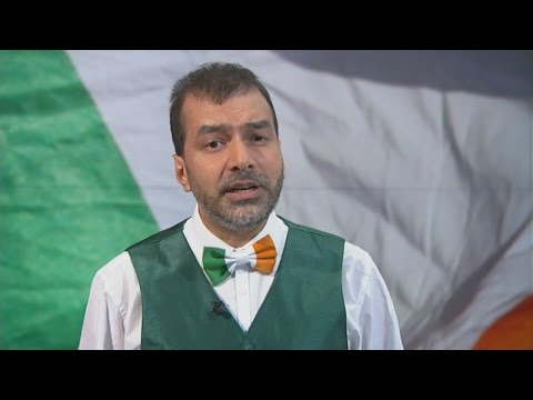 St Patrick's Day: Meet the Gaelic singing Muslim cleric | Channel 4 News