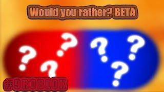 #9 Eu ROBLOX eu preferiria? BETA I [alemão] I 1080p [HD]
