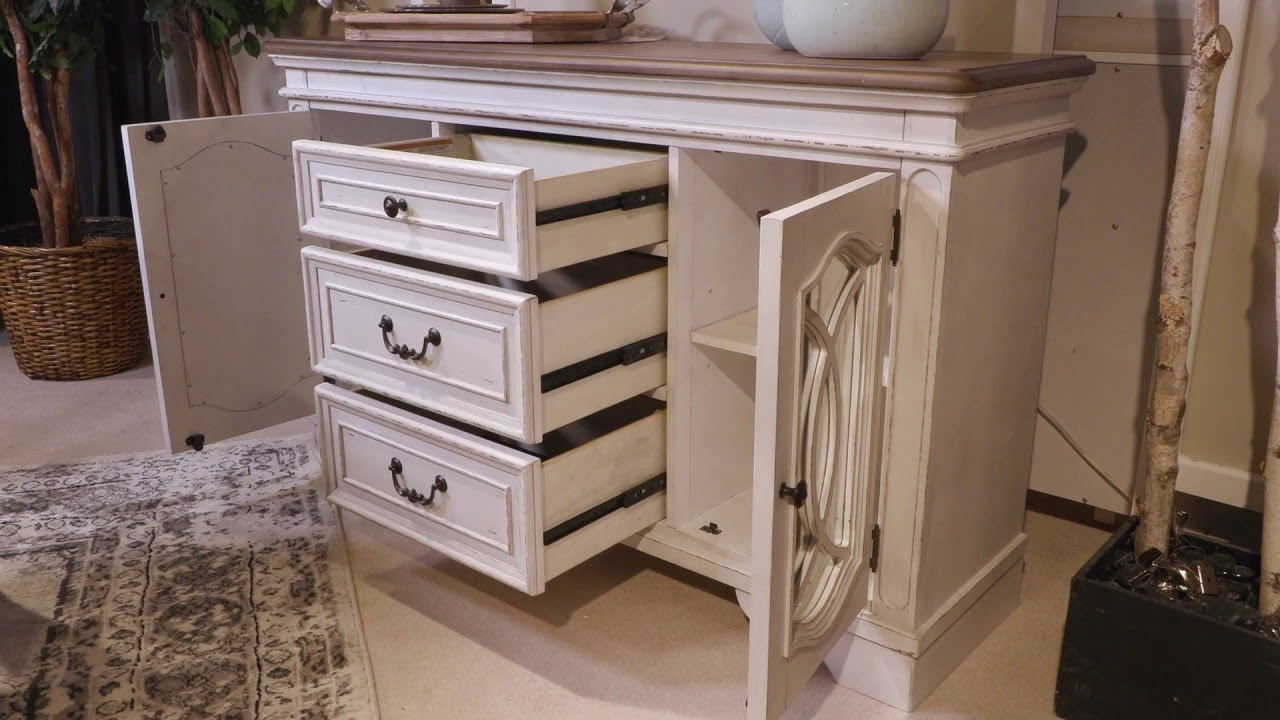 Realyn White Dining Room Server From, Ashley Furniture Realyn Dining Room Server