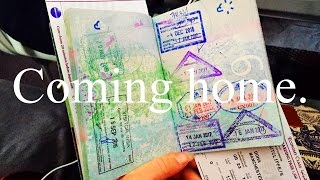 Coming home from travelling + surprising my family / What Saffron Said