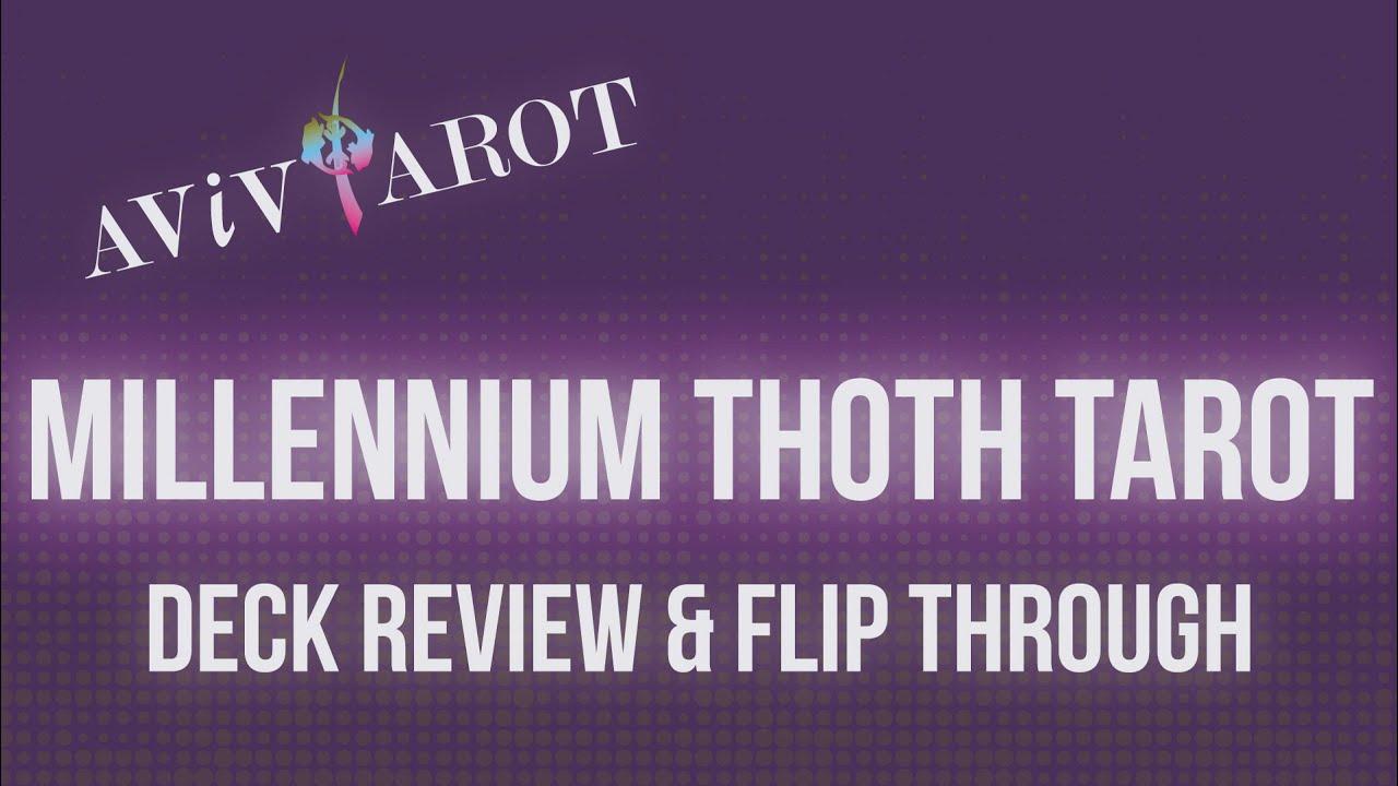 💖Deck Review & Full Flip Through🔮Millennium Thoth Tarot❤️😊