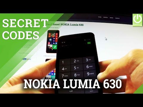All Secret Codes in NOKIA Lumia 630 - Nokia Hidden Features