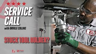 Stuck Toolholder??? Orville Makes a Service Call - Haas Automation Service