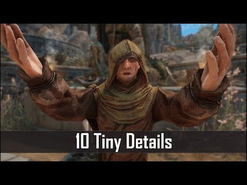 Skyrim: Yet Another 10 Tiny Details That You May Still Have Missed in The Elder Scrolls 5 (Part 42)