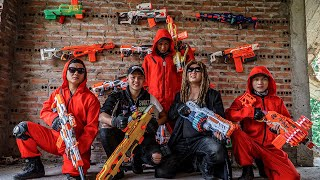 LTT Game Nerf War : Captain Warriors SEAL X Nerf Guns Fight Rocket Crazy Catch Mafia Criminals
