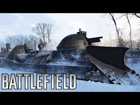 Battlefield 1 Russian BEHEMOTH!  In the Name of the Tsar DLC Gameplay (BF1 Lupkow Pass New Map)