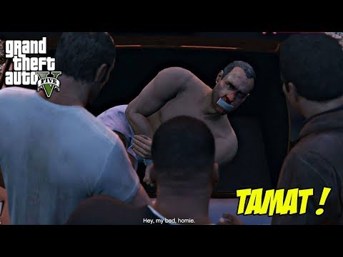 MISI TERAKHIR GTA 5 ! HABISI SEMUA MUSUH | ENDING #C : DEATHWISH (THE THIRD WAY) | PC