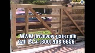 Driveway Slide Gates !! Call 24/7: (800) 908-6656