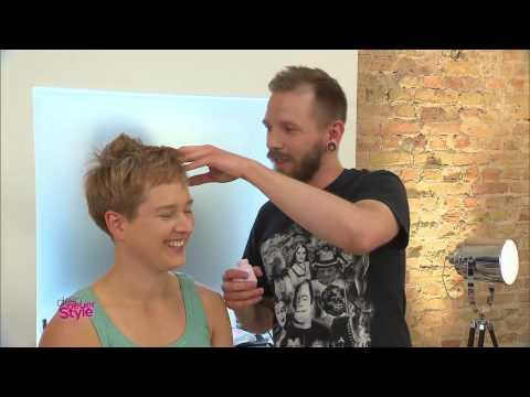 Dein neuer Style - Tutorial: Kurzhaar Styling - RTL2
