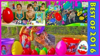 Slime Baff Surprise Toys Challenge Compilation with Pie Face and Wet Head Challenges