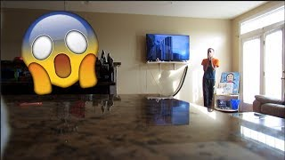 """BROKEN TV SCREEN"" Prank! (Hilarious)"