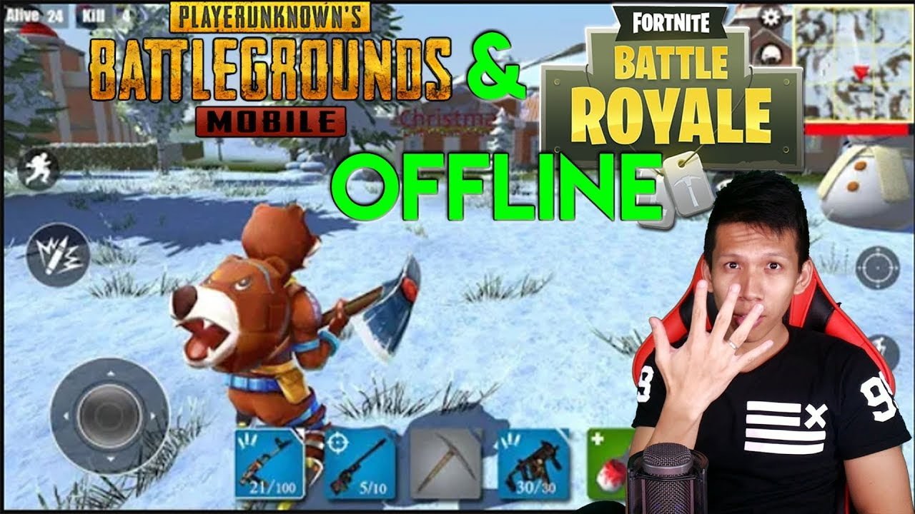 5 Game Android OFFLINE Seperti PUBG Dan Fortnite !