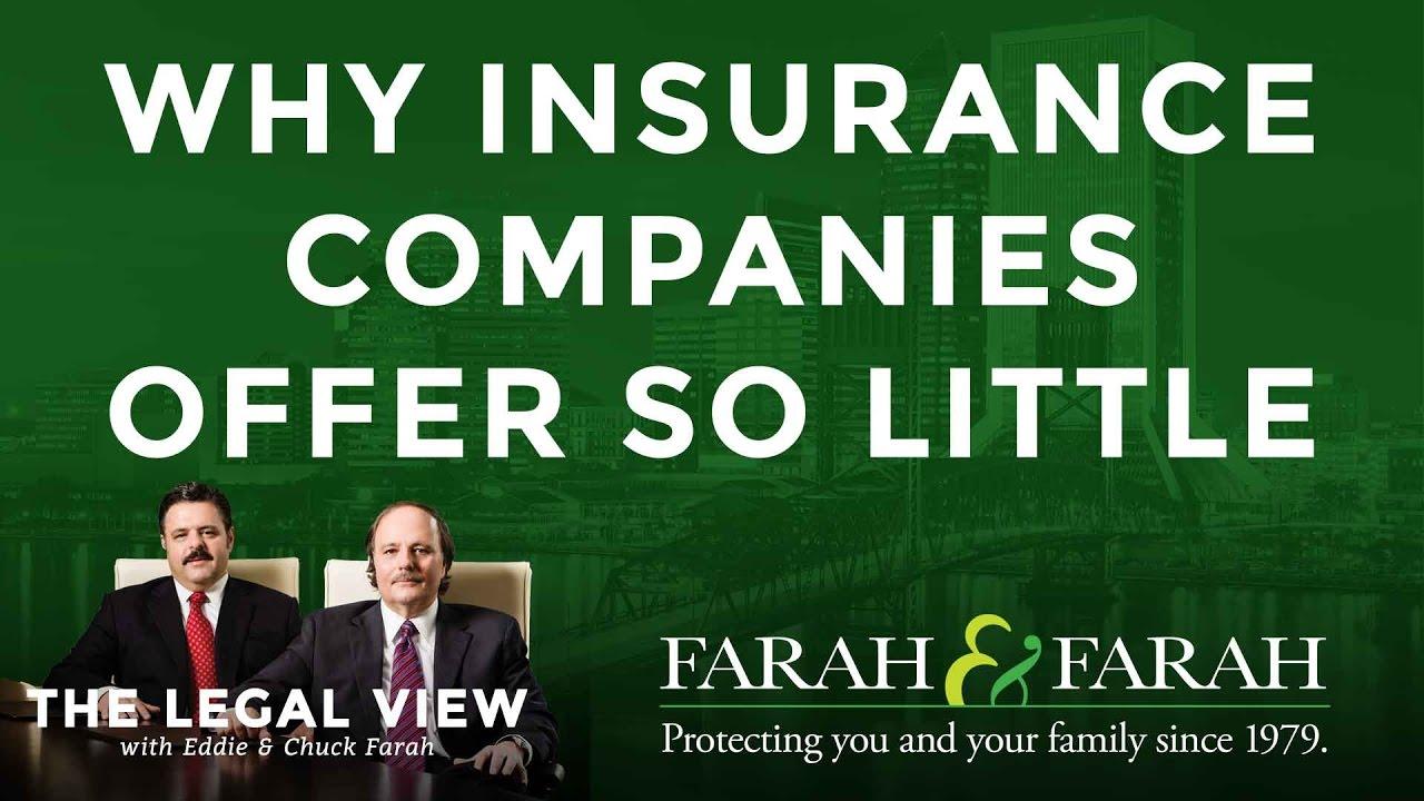 Eddie Farah Explains Why Insurance Companies Offer So Little - YouTube