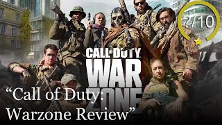 Call of Duty: Warzone Review [PS4, Xbox One, & PC] - Free to Play (Video Game Video Review)