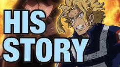 The FULL BACKSTORY of All Might!/ My Hero Academia Origins / Toshinori Yagi