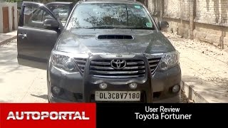 Toyota Fortuner User Review - 'great suv' - Autoportal