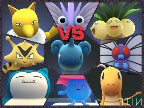 Pokémon GO Gym Battle LEVEL 10 GYM Lapras Snorlax Butterfree Exeggutor 52000 PRESTIGED