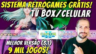 Console Retrô feito em casa! Doug Retro Game Box V3.1 p/ Android fácil e grátis (TV Box, Celular)