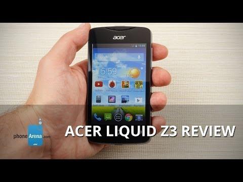 Acer Liquid Z3 Review